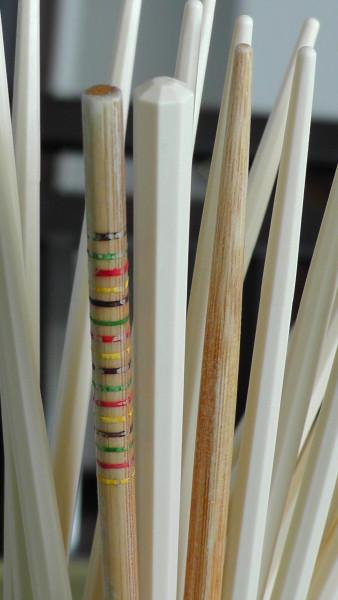 100均の竹箸との比較
