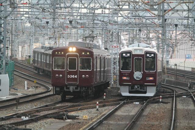 阪急電鉄マークの花盛り2