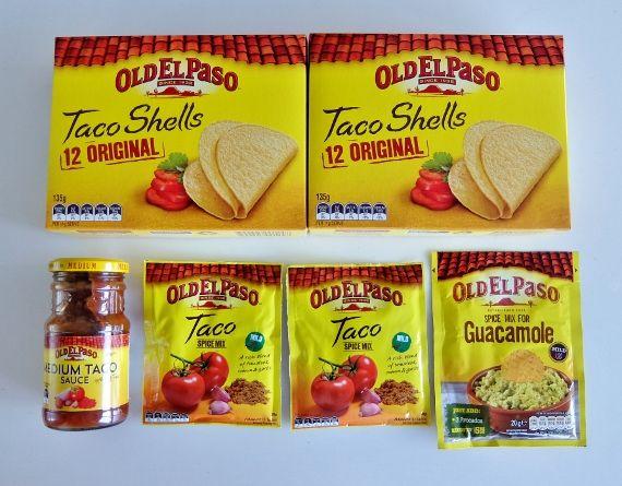 コストコ オールドエルパソ タコキット 1,378円也 オールド・エルパソ メキシカンフード タコキット Old ElPaso Taco Kit