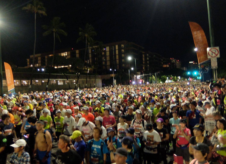 ホノルルマラソン ハワイ ブログ 完走 2019