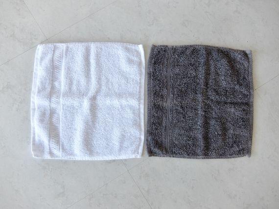 コストコで買ったLoftex Luxe Towel ハンドタオルとウォッシュタオルのセット 感想 レポート 397円 戦利品