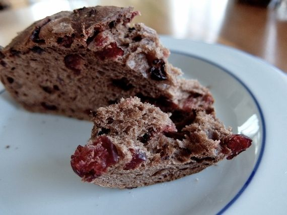 コストコ  チョコレート クランベリーローフ 998円 期間限定販売 Chocolate Cranberry Loaf