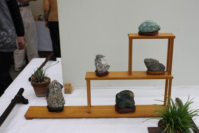 藤岡愛石会 石展 2014