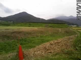 山と土塁と堀