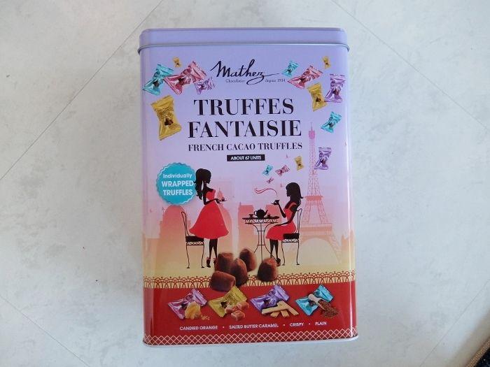 コストコで買った商品のレポ マセス トリュフ アソート チョコレート