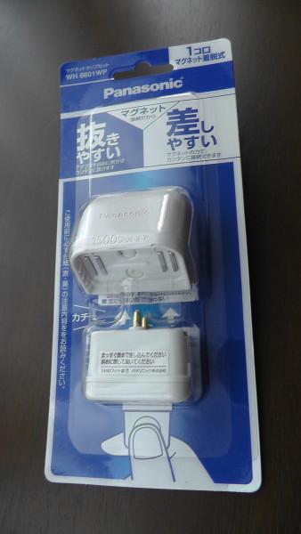 マグネットタップセット WH6601WP Panasonic パッケージ