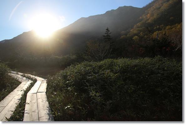 栂池自然園-53 もうすぐ日暮れ 15.10.2 16:29