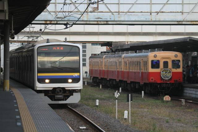 小湊鉄道 団臨 イルミネーション3