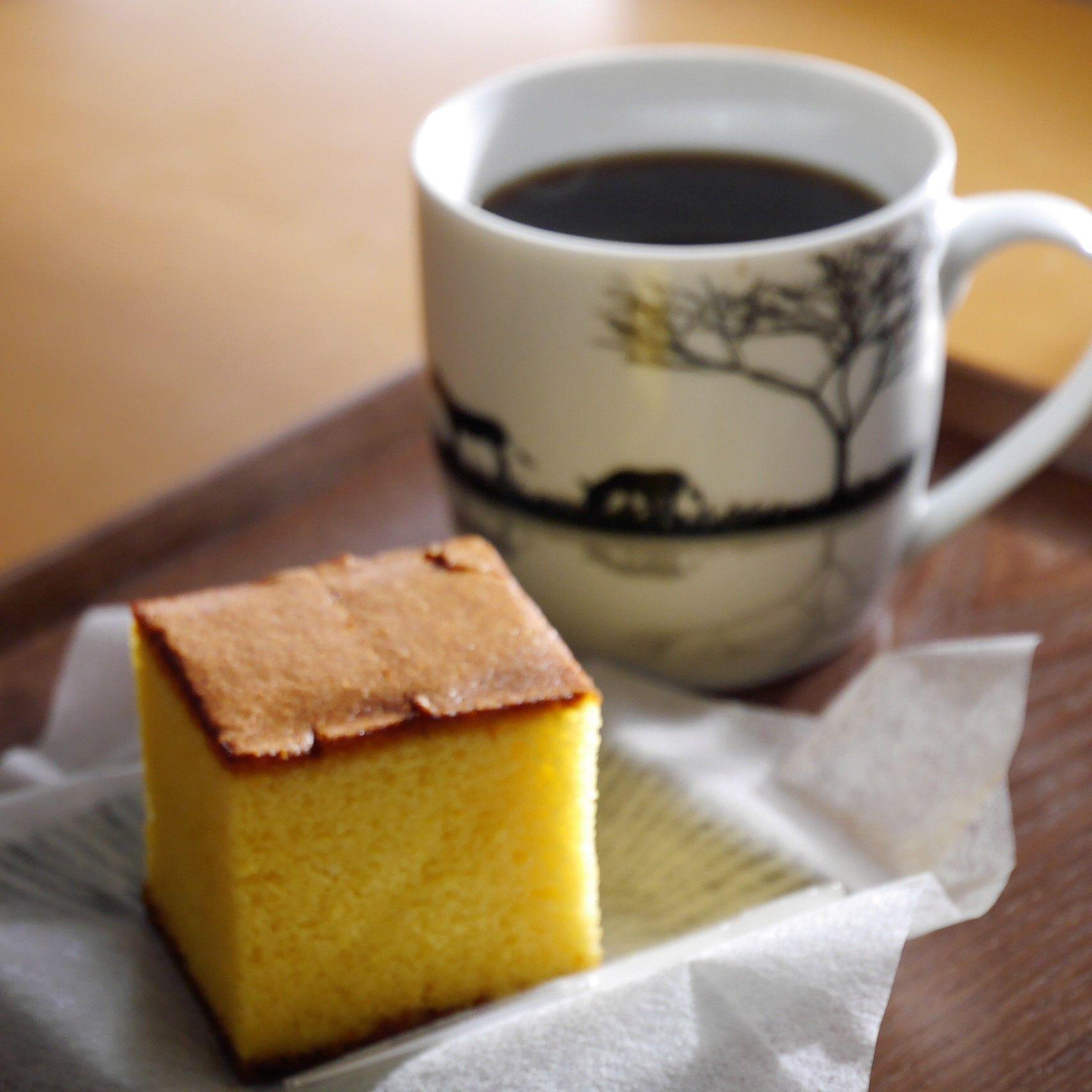 福砂屋_カステラ_コーヒー