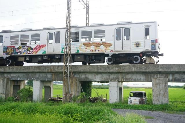 弘南鉄道 弘南線コンクリート橋4