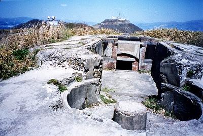函館山と砲台跡01