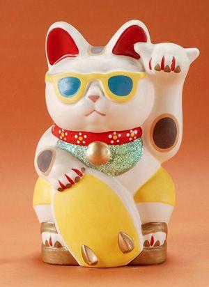 招き猫ミュージアム ハワイ シャカサイン シャカ猫