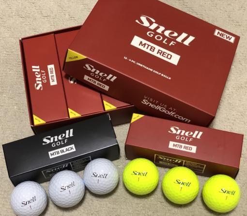 4fbfe0d124847 「スネルゴルフ Snell GOLF」ブラックに続き、レッドのボールを買ってみた。