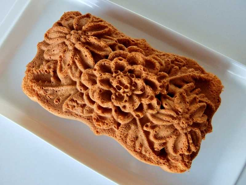 ぐりとぐらのふわふわカステラケーキ ノルディックウェア ワイルドフラワー パウンド型 パン