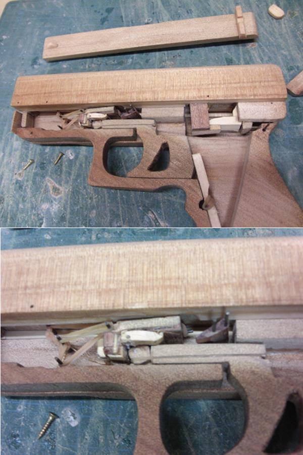 フルオートのブローバックするゴム銃を作ってみた。マシンガンの用に連射するんです うさこッつの独り善がり 楽天ブログ