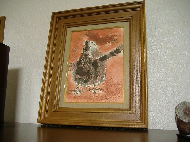 三岸節子 鳥