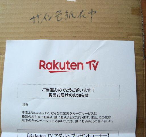 テレビ アダルト 楽天