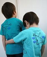 手描きTシャツ200