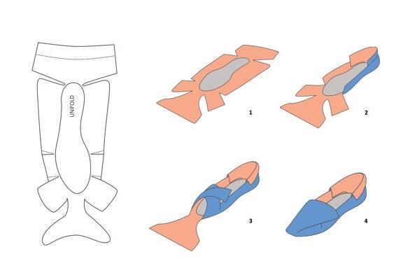 パンプス 設計図