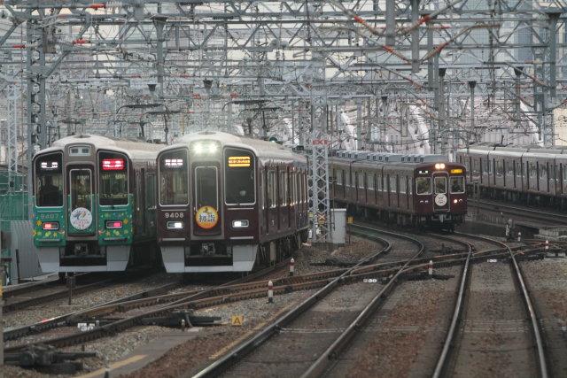 阪急電鉄マークの花盛り3