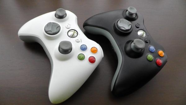 Xbox360のワイヤレスコントローラー