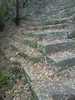 2の丸へ上がる石段2