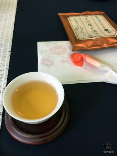 茶席のお茶とお菓子