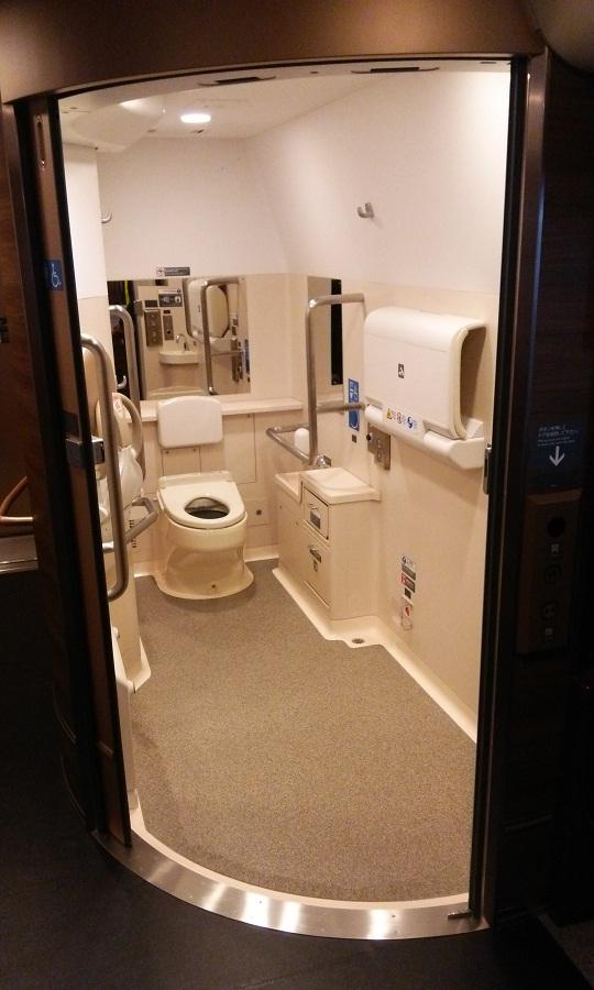 H5系車イス対応大型トイレ