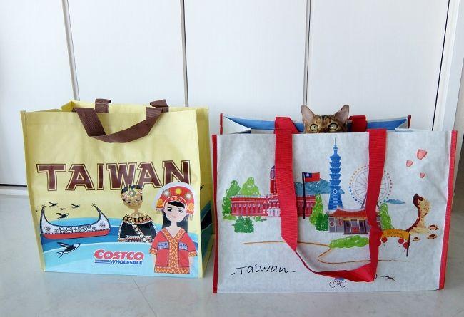 コストコ バッグ TW 4PK 円 台湾 ショッピングバッグ