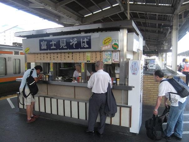 富士見そば@JR静岡駅(上り)