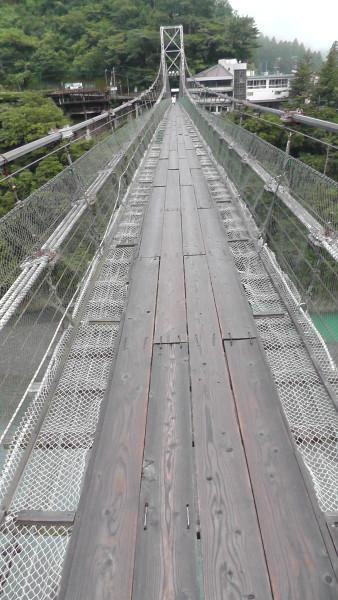 十津川 吊り橋
