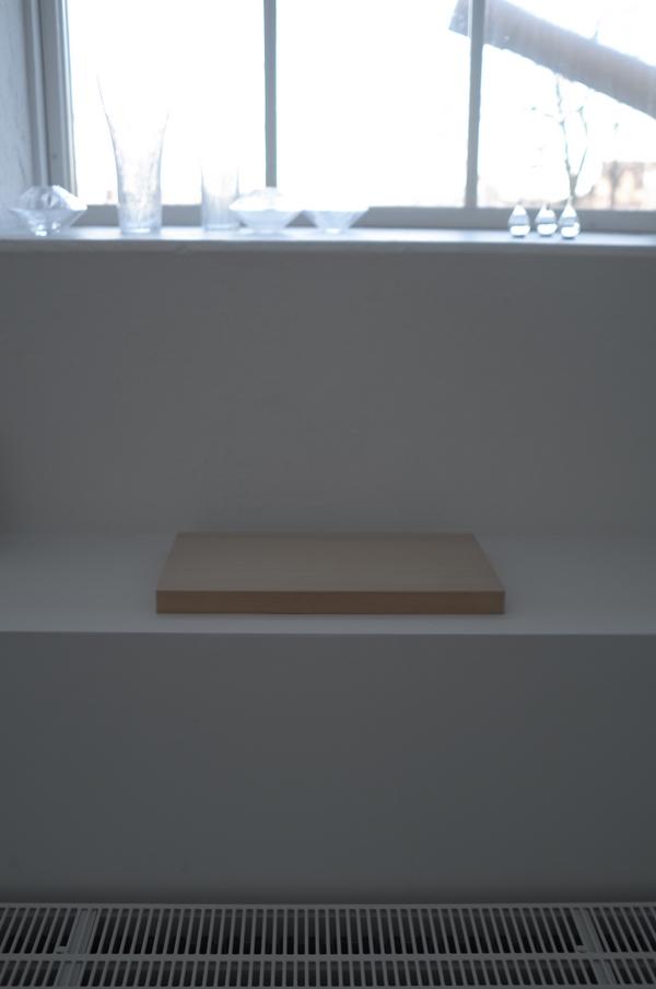 大事に飾られる俎板の巻