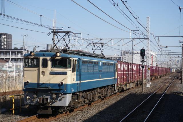 EF65 2119鹿島&EF65 2127