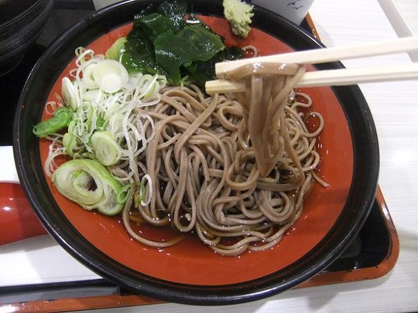 吉野家@アリオ西新井の海鮮親子丼とそばセット2