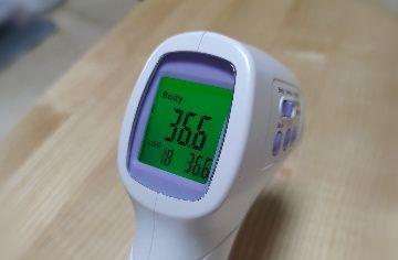 使い方 非 体温計 接触 型