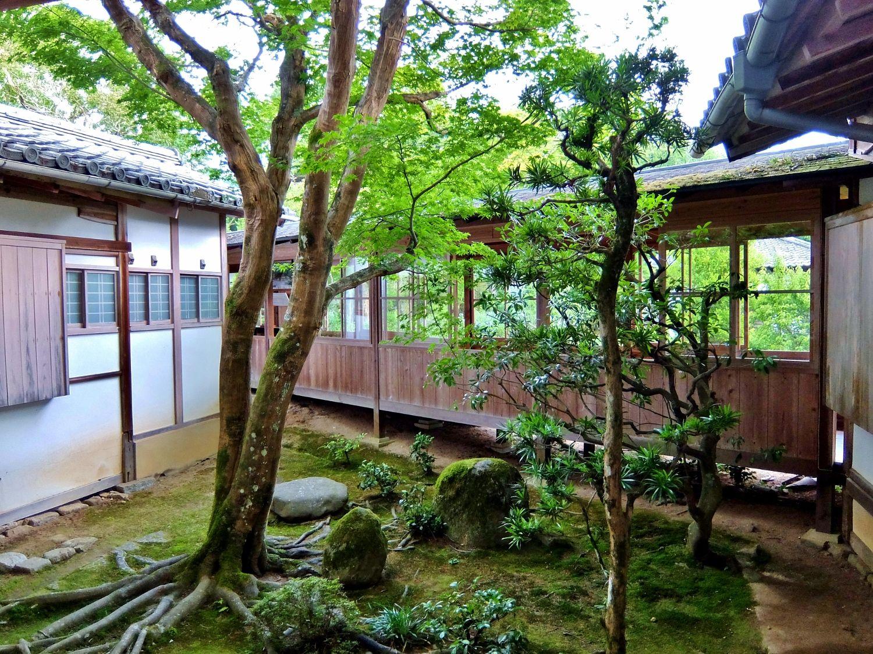 曼殊院門跡 京都 文化財 国宝 日本庭園