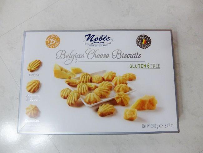 コストコ お菓子 ベルギー チーズビスケット 1,038円