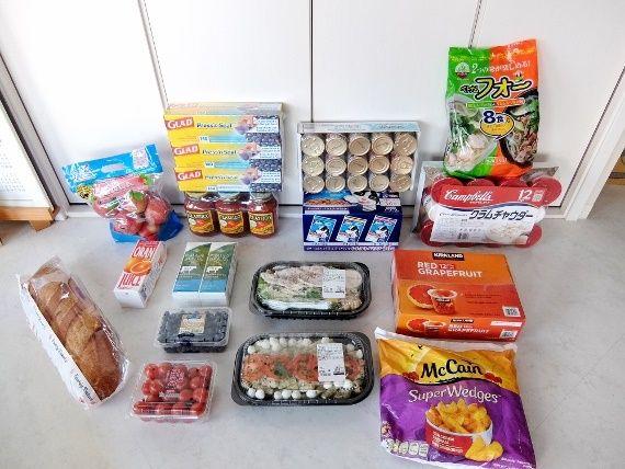 コストコ へ行ってきました レポ ブログ 買い物 商品 食材