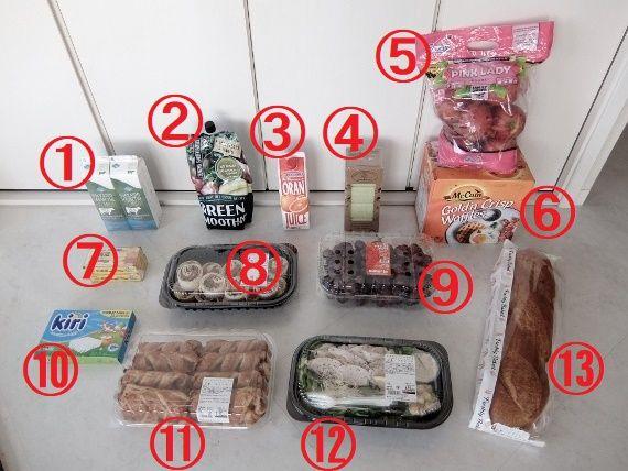 コストコでお買い物 レポ ブログ 購入 商品 戦利品