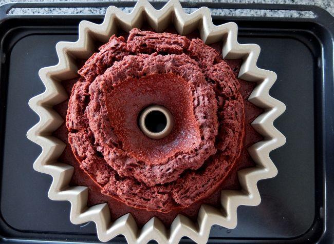 レッドベルベットケーキ ノルディックウエア Red Velvet Bundt Cake