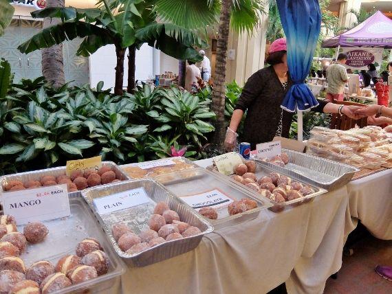 Hawaii ハワイ ワイキキ ファーマーズマーケット ビーチ