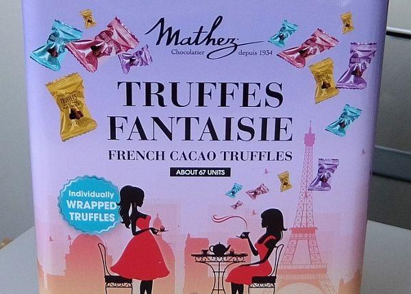 コストコで買った チョコレート 商品のレポ マセス マセズ トリュフ アソート 円 アソート Mathez Truffles