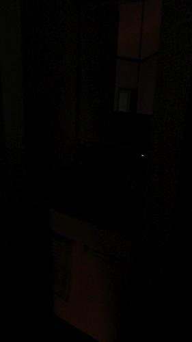 2階洗面所 照明消灯時