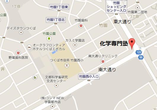 塾の地図 和宏ビル