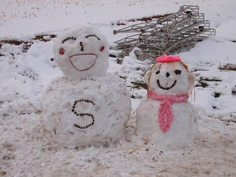 2013年12月  雪だるま1号.jpg