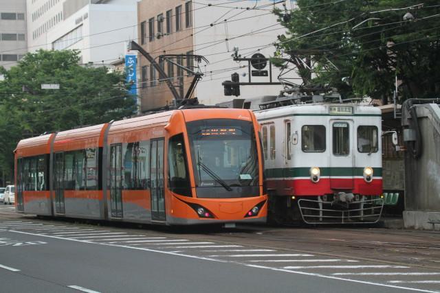 福井鉄道 新旧 並びの 数々3