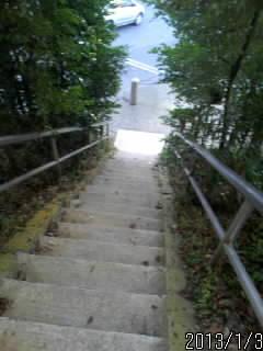 東照宮?階段