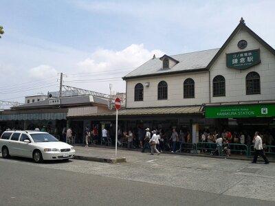 鎌倉駅西口2013年6月