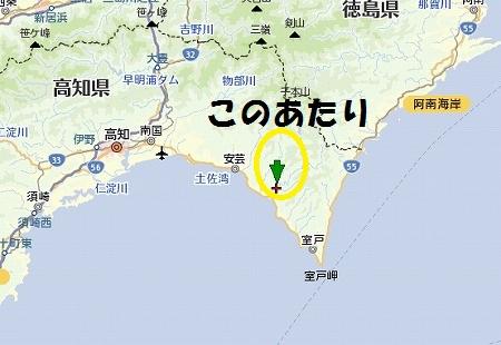 北川村 地図