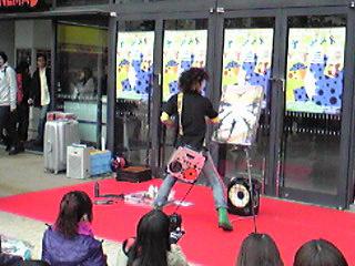 ヨコハマ大道芸2012・ユキンコアキラ2